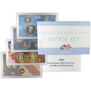 2009 S Proof Set U.S. Mint Original Government Packaging OGP Collectible
