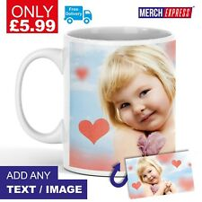 Personalised Mug Custom Cup Photo Gift Boxed Image/Text Tea Coffee