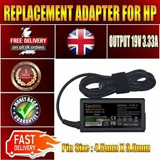 NEW 65W TECHVS REPLACEMENT ADAPTER FOR HP 17 17-P150NA LAPTOP CHARGER
