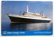 ms Rotterdam . Holland America Cruises. HAL Cruise Ship. Vessel. Passenger Boat