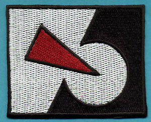"""3.25"""" x 2.625"""" Farscape Peacekeepers Logo Embroidered Iron-On Patch"""