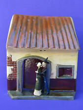 DAY OF THE DEAD OLD VINTAGE FACADE GLAZED POTTERY