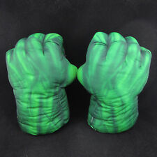Set of 2 Incredible Hulk Smash Hands Plush Cosplay Punching Boxing fists Gloves