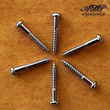 6x VIS pour Tremolo Vintage Strat set of 3x SCREWS 3.5x25mm Chrome
