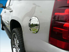 Cadillac Escalade chrome fuel door cover gas cap petro trim COVER ONLY