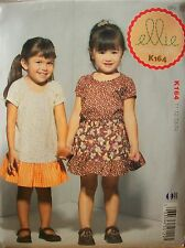 McCalls Ellie Mae Designs K164 Pattern UNCUT Toddler Top Dress Pantie Sz 1-2-3-4
