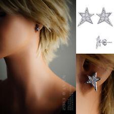 BOUCLES d'oreilles ETOILE en ARGENT neuf - 1375010