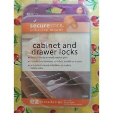 KidCo SecureStick Adhesive Mount Cabinet and Drawer Lock ez installation