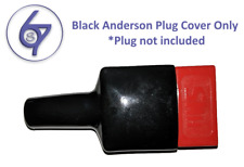 2 x Waterproof Anderson Plug dust cable sheath covers black