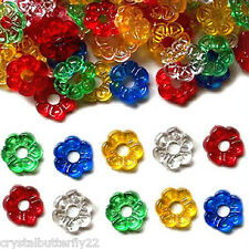 36 Medium Petal Nest Rings in 5 colors for Ceramic Christmas Trees + BONUS