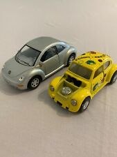 Two Toy Cars Volkswagen Beetle Free Shipping