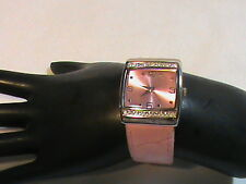 Mary Kay Pretty Pink Watch with Rhinestones