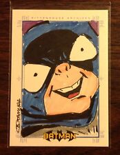 Bat-Mite 2008 Batman Archives sketch card Breno Tamura