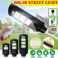 68000LM 680W LED Solar Street Light PIR Motion Sensor Flood Wall Lamp+Remote