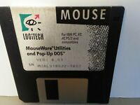 "ITHistory (199X) IBM Software: MOUSEWARE UTILITIES 4.01 (Logitech)3.5"" No Manual"