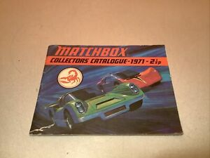 Matchbox Collector's Catalog USA 1971 Edition