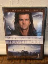 Braveheart Special Collector's Edition Dvd 2017 Mel Gibson William Wallace New