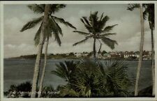 Mombasa From the Mainland c1920 Postcard