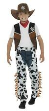Smiffy's Texan Cowboy Child Costume Boy's Size Large 10-12