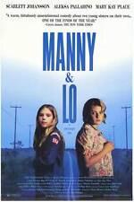 MANNY AND LO Movie POSTER 27x40 Mary Kay Place Scarlett Johansson Aleksa