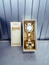 Table piston Clock metal art desk Car Part Furniture Automotive watch gold
