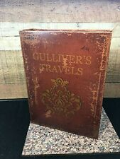 Gulliver's Travels 1726 Magnetic Secret Stash Book With Hidden Compartment