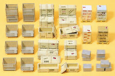 Preiser 17110 H0 Gitterboxpaletten und anderes
