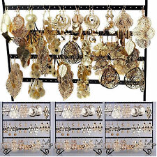 CH Wholesale Jewelry 12pairs Mixed  Lots Gold Plated Fashion Dangling Earrings