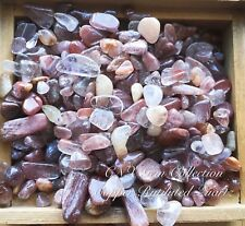 Gemstone Natural Crystal Red Copper Rutilated Hair Quartz Collectable 5g Small