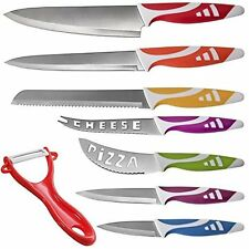 Den Haven Professional Chef Knives, Multi Use 8pc Gift Set for Home Kitchen