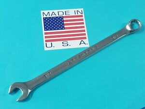 """CLASSIC ARMSTRONG USA 3/8"""" LONG COMBINATION WRENCH 25-212 SHIPS FREE TOOL LOT"""
