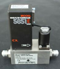 New BROOKS 5851E Mass Flow Controller Gas N2, 100 SLPM, 5851EA14BV2H2DA