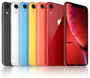 Apple iPhone XR  - 64GB/128GB/256GB, All Colours, Very Good Condition Smartphone