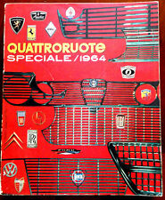 QUATTRORUOTE SPECIALE 1964 EDITORIALE DOMUS