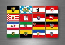 Adesivi adesivo sticker bandiera collezione stati regione provincia germania