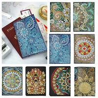 DIY Butterfly Special Shaped Diamond Painting Leather Bookmark with Tassel WT7n
