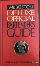 Vintage 1979 Mr.Boston Deluxe Official Bartenders Guide New World Wide Edition
