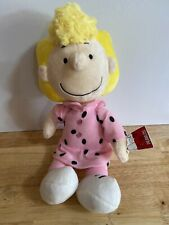 "Peanuts Charlie Brown Sister 13"" Plush SALLY Doll by Cedar Fair W/ TAGS Nice"