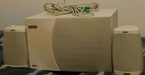 Altec Lansing ADA-70 USB Premium Retro PC Speakers w/ Subwoofer & Cables