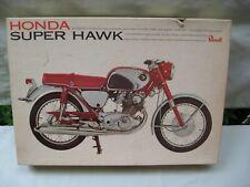 1966 Revel Model Kit / HONDA SUPER HAWK / Not Started / 1/8 Scale Missing Parts