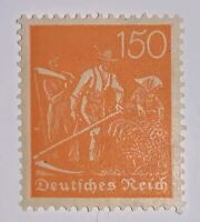 Travelstamps: 1922 Germany Stamps Scott #175 Workers Farmers Inflation, Mint MNH