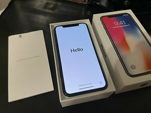 Apple iPhone X 64GB Space Gray MQAQ2LL/A GSM Factory Unlocked Smartphone