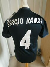 **SERGIO RAMOS  ** REAL MADRID AWAY SHIRT  BNWT 2018-19 SIZE SMALL