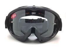 SPY+ Optic Targa MX Mini Goggle 320391062097 Shiny Black with Clear AFP Lens