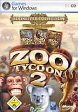 ZOO TYCOON 2 + 2 ADDONS ZOODIREKTOR SAMMLUNG * Top Zustand
