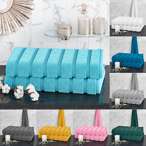 Egyptian Cotton 2 Pack Large Jumbo Bath Sheet Towels Towel Set Super 100 x 170