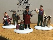 Dept 56 Dickens Village Vision of a Christmas Past SET/3 MIB MINT! 58173