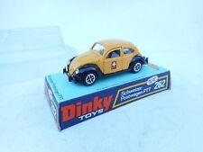 DINKY TOYS 262 VW VOLKSWAGEN BEETLE SWISS PTT POSTWAGEN  1:43 NM BOX