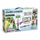 Studio Creator Video Kit Green Screen LED Ring Light Tripod Smart phone holder
