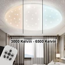 LED Decken Leuchte Wohn Zimmer Sternen Himmel Effekt Fernbedienung Lampe dimmbar
